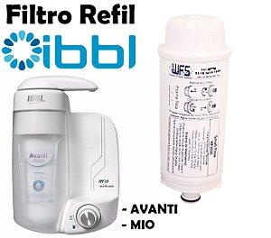 Refil Filtro Purificador Bebedouro Ibbl Avanti Reposição