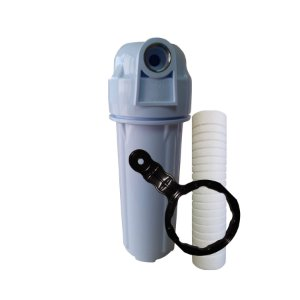 Filtro De Água Para Caixa Dágua Ou Cavalete De Entrada Novo Com Rosca INOX