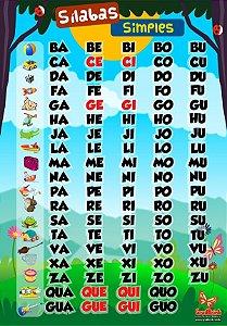 Banner Silabário Simples Floresta