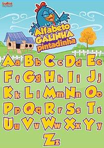 Alfabeto ilustrado Galinha Pintadinha
