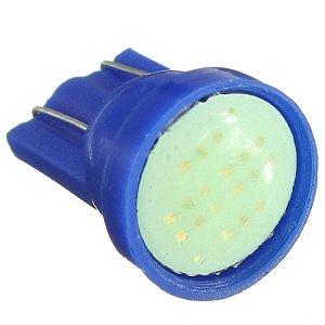 Par de lâmpadas LED Pingo Cob Azul cristal