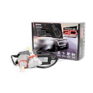 Kit Super Led Headlight 3D H8 3600 lumens