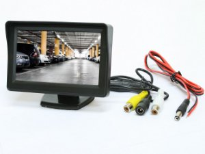 Monitor Tela Lcd 4.3 Automotivo Colorido