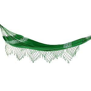 Rede de Dormir Casal Pernambucana Verde