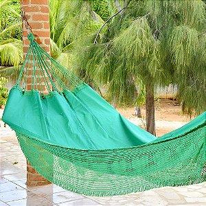 Rede de Dormir Casal Sol a Sol Verde
