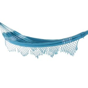 Rede de Dormir Casal Pernambucana Azul Celeste