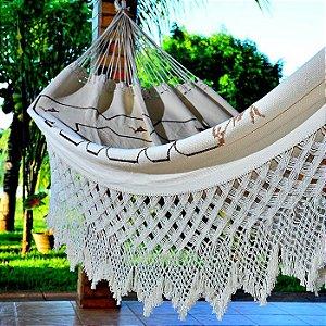 Rede de Dormir Casal Artesanal em Ponto Cruz