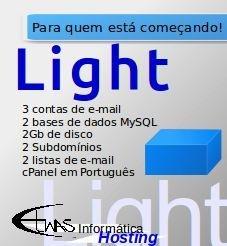 Hospedagem de site - Light