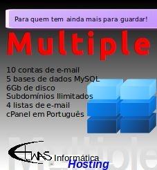 Hospedagem de site - Multiple