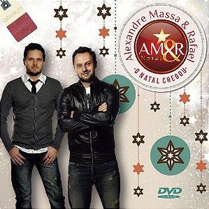 "DVD ""O Natal Chegou""  - Alexandre Massa & Rafael"