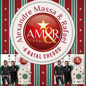 "CD+DVD ""O Natal Chegou""  - Alexandre Massa & Rafael"