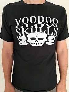 Camiseta Voodoo Glow Skulls - 3 calaveras