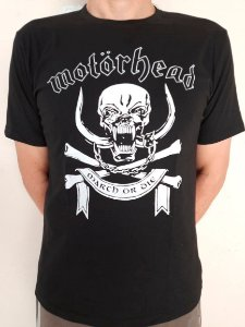 Camiseta Motorhead - March or die