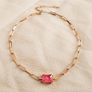 Choker Cartier Pink
