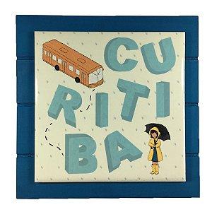 Quadro Decorativo Lembrança de Curitiba
