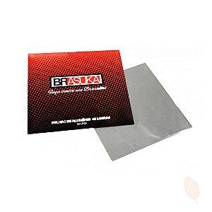 Papel Aluminio Brazuka - 50 unid