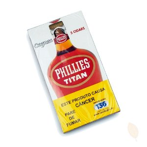 Charuto Phillies Titan Cognac