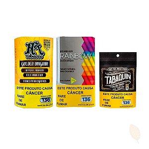 3 Bags Tabaco Hitobacco - Kit com 80g
