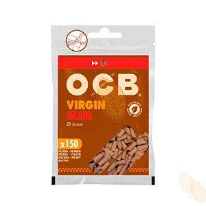 Filtro OCB Virgin Slim - 6mm Biodegradável