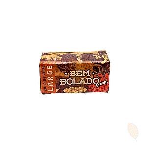 Seda de Rolo Bem Bolado - Large Brown