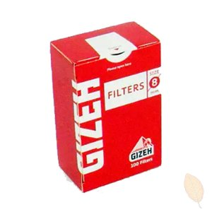Filtro para Cigarro GIZEH 8mm
