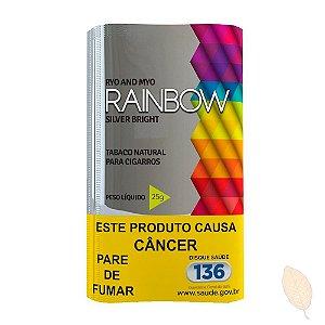 Fumo para Cigarro Rainbow Silver Bright 25g