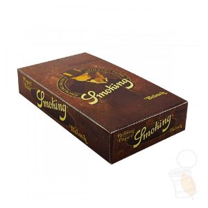 Caixa de Seda Smoking Brown Regular