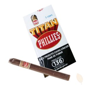 Charuto Phillies Titan Tradicional