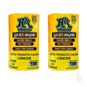 2 Bags de Fumo para Cigarro Golden Virginia HiTobacco