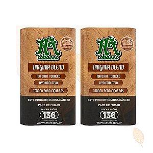 2 Bags de Tabaco Orgânico Virginia Blend Hi Tobacco 35g - 6unid
