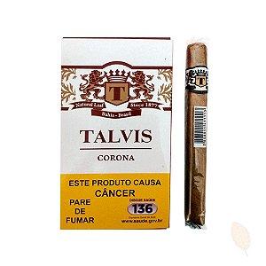Charuto Talvis Corona Brown Chocolate- Caixa 5 unid.