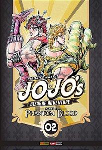 Jojo's Bizarre Adventure - Phantom Blood (Parte 1) - Vol. 02 (Item novo e lacrado)