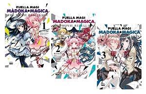 Puella Magi : Madoka Magica - The Movie Rebellion [ Volumes 01, 02 e 03 ] - Completo (Itens novos e lacrados)