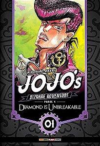 Jojo's Bizarre Adventure - Diamond is Unbreakable (Parte 4) - Vol. 01 (Item novo e lacrado)