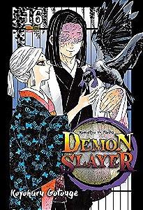 Demon Slayer : Kimetsu No Yaiba - Volume 16 (Item novo e lacrado)