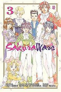 Sakura Wars - Volume 03 (Item novo e lacrado)