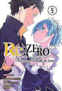 Re:Zero - Capítulo 03 : A Verdade de Zero - Volume 05 (Item novo e lacrado)