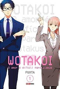 Wotakoi: O amor é difícil para Otakus - Volume 01 (Item novo e lacrado)