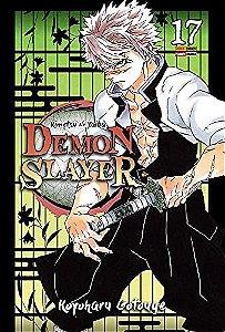 Demon Slayer : Kimetsu No Yaiba - Volume 17 (Item novo e lacrado)