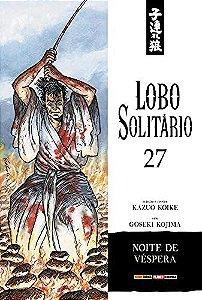 Lobo Solitário (Edição Luxo) - Volume 27 (Item novo e lacrado)