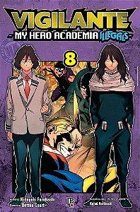 Vigilante : My Hero Academia Illegals - Volume 08 (Item novo e lacrado)