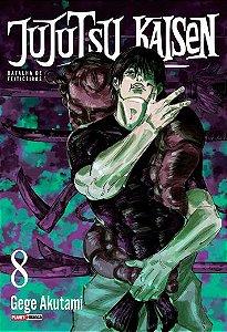 Jujutsu Kaisen : Batalha De Feiticeiros - Volume 08 (Item novo e lacrado)