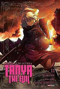 Crônicas de Guerra : Tanya The Evil - Volume 11 (Item novo e lacrado)