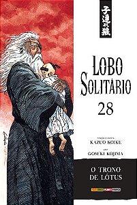 Lobo Solitário (Edição Luxo) - Volume 28 (Item novo e lacrado)