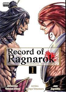 Record of Ragnarok (Shuumatsu no Valkyrie) - Volume 01 (Item novo e lacrado)