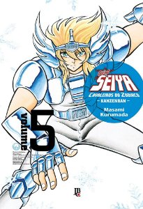 Cavaleiros do Zodíaco (Saint Seiya) Kanzenban - Volume 05  (Item novo e lacrado)