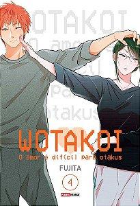 Wotakoi: O amor é difícil para Otakus - Volume 04 (Item novo e lacrado)