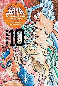 Cavaleiros do Zodíaco (Saint Seiya) Kanzenban - Volume 10  (Item novo e lacrado)