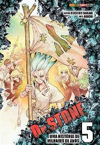 Dr. Stone - Volume 05 (Item novo e lacrado)