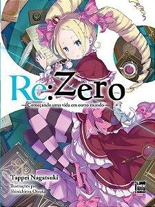 Re:Zero – Começando uma Vida em Outro Mundo - Livro 03 (Item novo e lacrado)